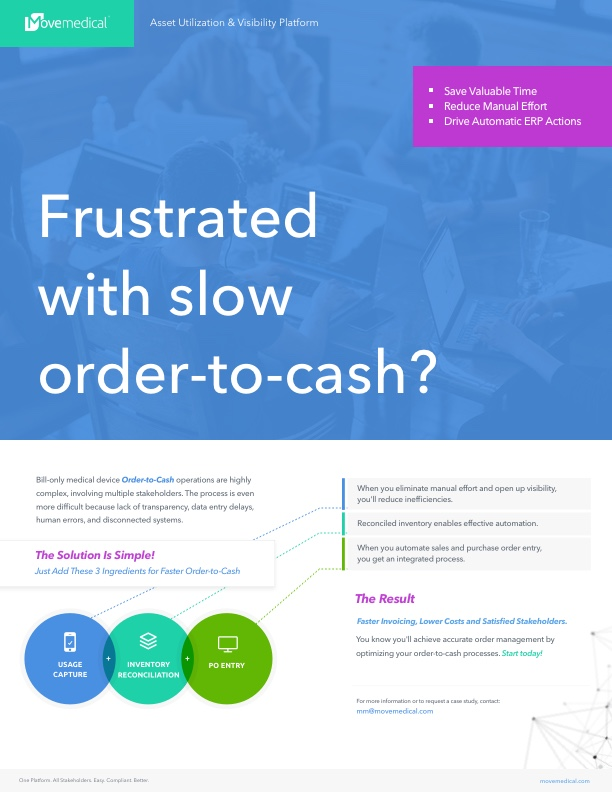 Frustrated with slow order-to-cash?