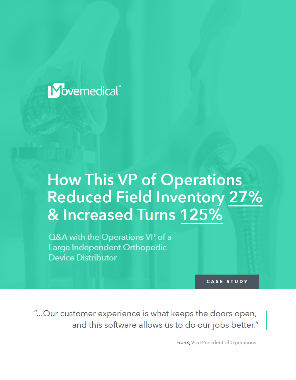 Case Study: How This VP of Operations Reduced Field Inventory 27%