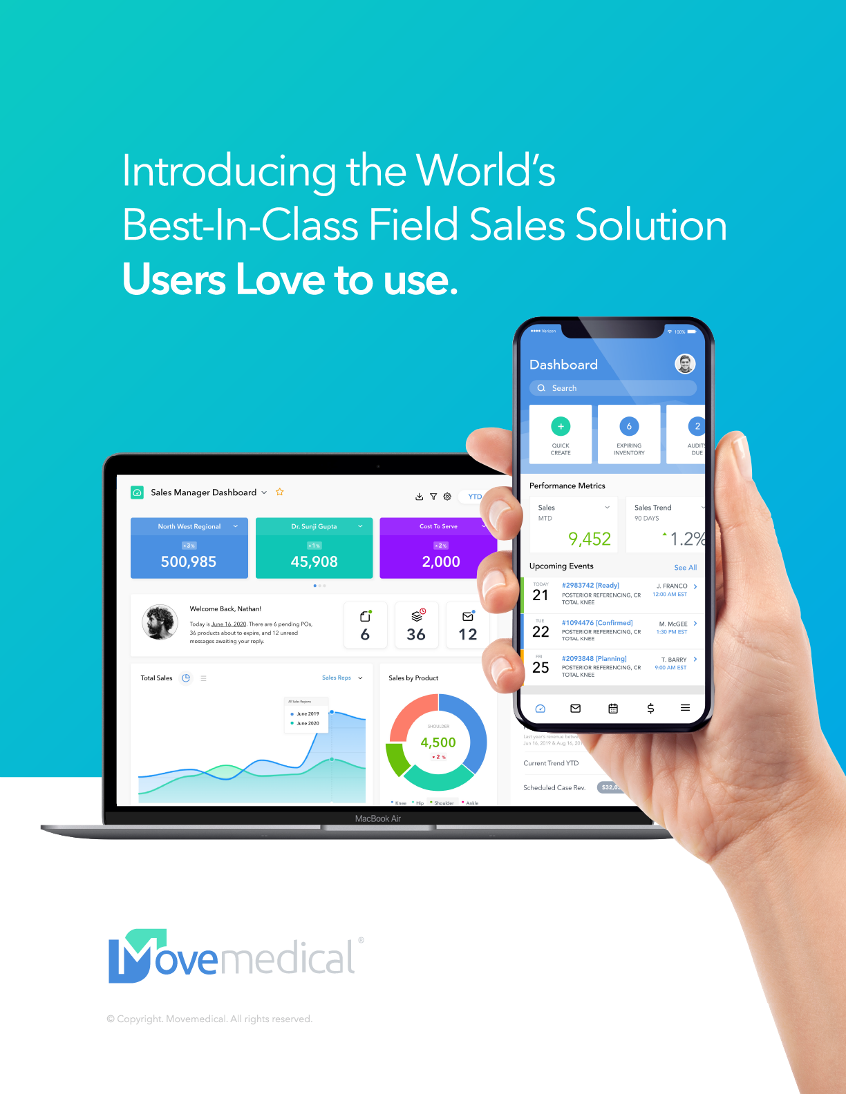 Introducing the World's Best-In-Class Field Sales Solution Users LOVE to use